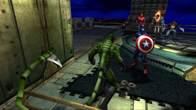 Fotos de marvel ultimate alliance