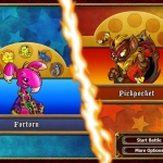 Neopets Puzzle Adventure Screens