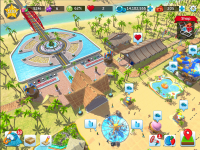 RollerCoaster Tycoon Touch Screenshots