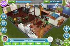 The Sims FreePlay Screens